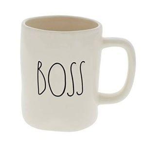 Rae Dunn Boss Mug